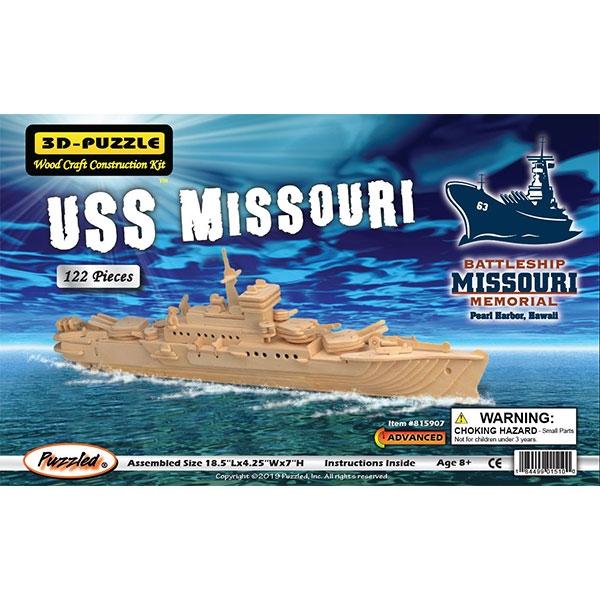 3D Puzzle USS MISSOURI BATTLESHIP