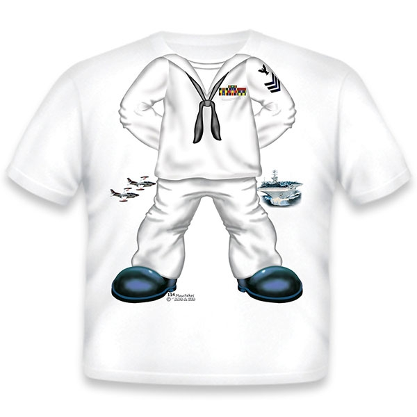 SAILOR BODY MIGHTY MO TODDLER T-SHIRT