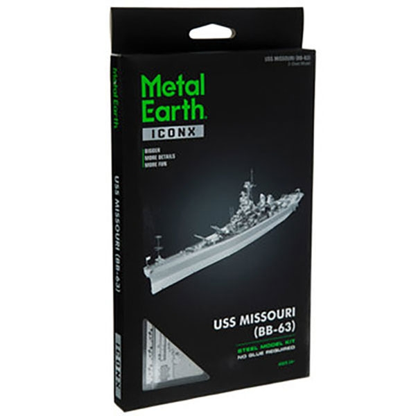 3D METAL MODEL USS MISSOURI KIT