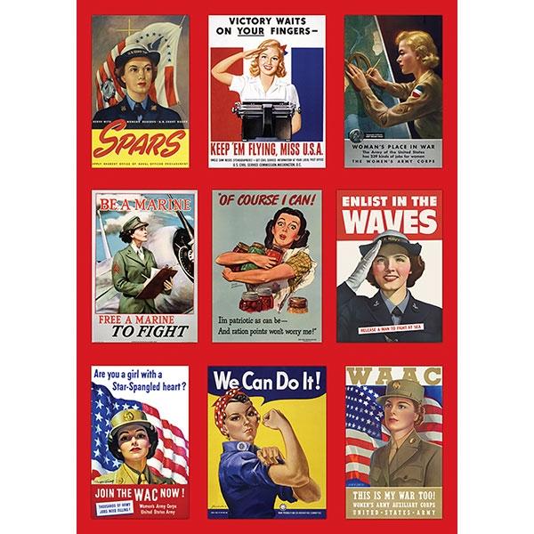 ROSIE & WOMEN OF WORLD WAR II KITCHEN TOWEL