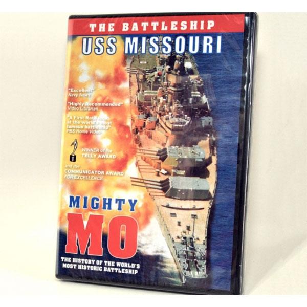 USS MISSOURI DVD