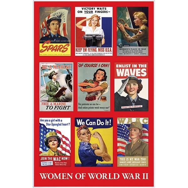 ROSIE & WOMEN OF WORLD WAR II PRINT