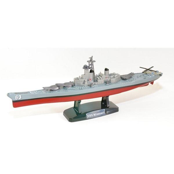 """9"""" DIE CAST USS MISSOURI BATTLESHIP EXCLUSIVE"""