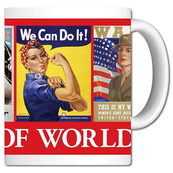 ROSIE & WOMEN OF WORLD WAR II CERAMIC MUG