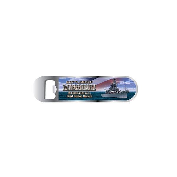 USS MISSOURI PATRIOTIC BOTTLE OPENER MAGNET