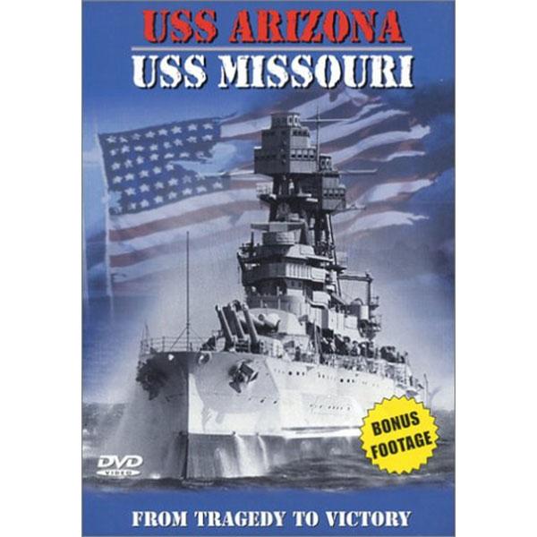 USS ARIZONA-USS MISSOURI DVD