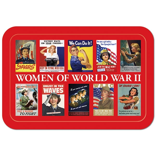 ROSIE & WOMEN OF WORLD WAR II MELAMINE TRAY