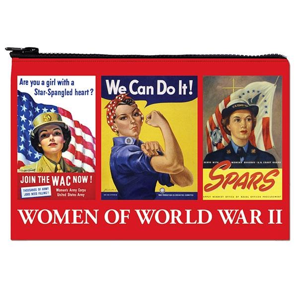 ROSIE & WOMEN OF WORLD WAR II ZIPPER POUCH