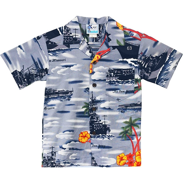 MADE IN HAWAII ALOHA SHIRT-TODDLER