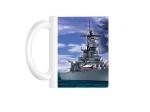 USS MISSOURI PATRIOTIC MUG
