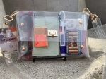 FASHIONABLE CLEAR PURSE ~ PEARL HARBOR VISITOR CENTER APPROVED STADIUM BAG