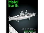 3D METAL MODEL USS ARIZONA KIT