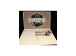 75TH ANNIVERSARY POST CARD WITH 1ST DAY ISSUE USS MISSOURI FOREVER STAMP